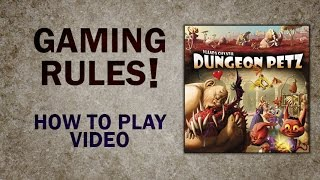 YouTube video Dungeon Petz - How to Play Video