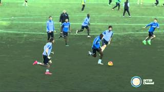 ALLENAMENTO INTER REAL AUDIO 04 11 2015