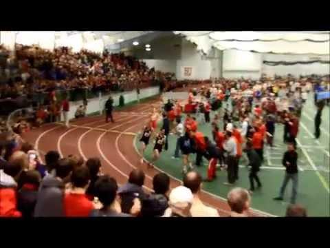 Galen Rupp in Boston Runs Epic Mile!