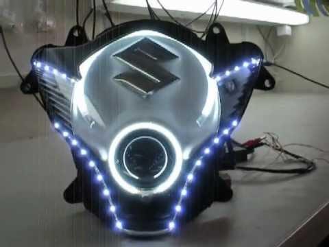 04 07 Gsxr 600 750 2 55w Hid Bi Xenon Projector