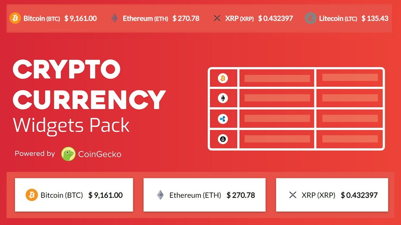 massive cryptocurrency widgets nulled