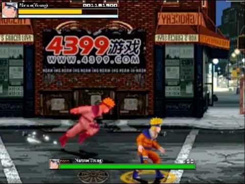 Naruto (young) Crazy Zombie 9 Hero Mode