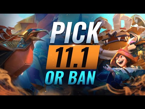 Op Pick Or Ban Best Builds Picks For Every Role League Of Legends Patch 11 1 Youtube