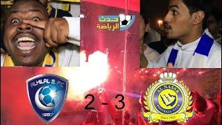 النصر العالمي بطل الديربي متصدراً الدوري على حساب الهلال !