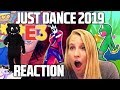 JUST DANCE 2019 TRAILERS REACTION! (E3 2018)