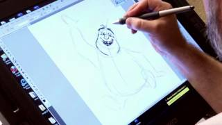 THE CROODS - Drawing Tutorial - Thunk