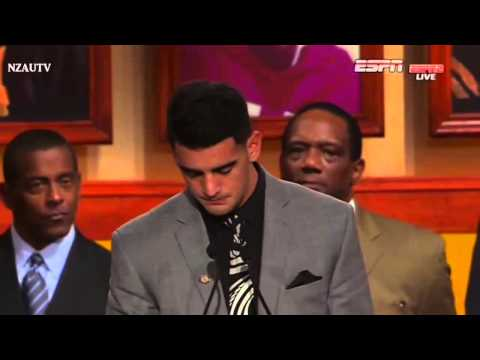 Marcus Mariota won the Heisman Trophy