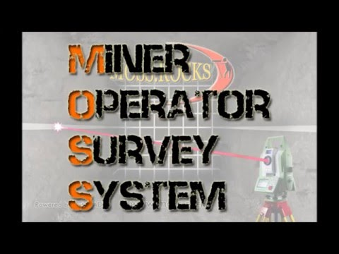 MOSS Miner Operator Survey System From Northern Survey Supply