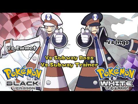 Pokemon Black/White - Battle! Subway Trainer Music (HQ)