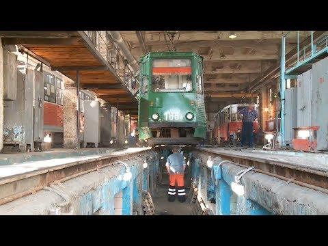 Бийское трамвайное управление погасило долг перед энергетиками (04.10.17г., Бийское телевидение)