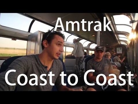 Amtrak Adventure Summer 2016