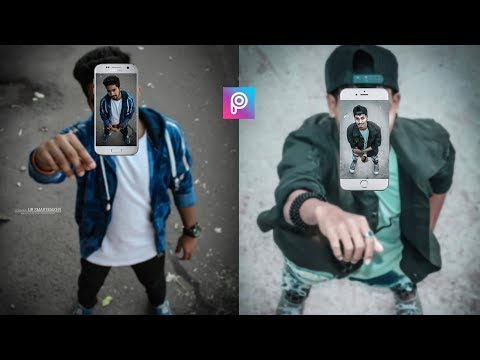 PicsArt 3D Fly Mobile Photo Editing Tutorial Step By Step In Hindi In Picsart 2019