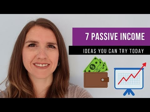 7 PASSIVE INCOME IDEAS UK (that you can start TODAY)