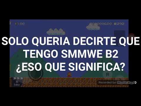 😱TENGO EL SMMWE B2 ESTARE JUGANDO SUS NIVELES MANDEN LINKS POR AQUI O POR DISCORD😎