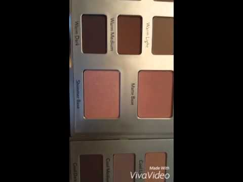 Review, Swatches: Cargo Cosmetics Eye Contour Palettes In Lighter, Warmer Bases