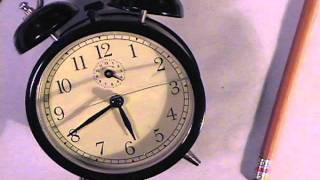 Clock With Animated Light Patterns   By Ce
