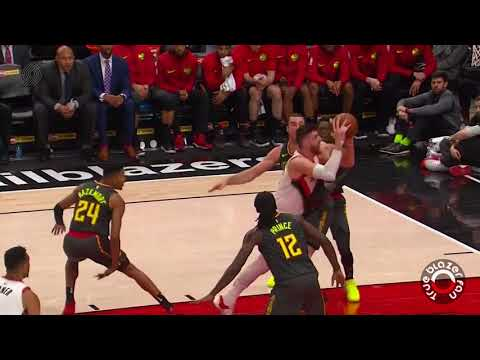 Portland Trail Blazers vs Atlanta Hawks - Full Game Highlights - January 5, 2018