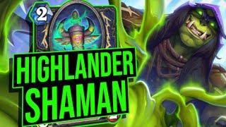 Highlander Quest Shaman: The Conclusion | Saviors of Uldum | Hearthstone