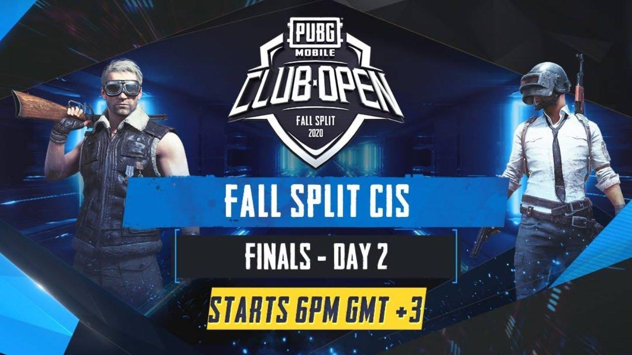 [RU] PMCO CIS Finals День 2 | Fall Split | PUBG MOBILE CLUB OPEN 2020