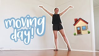 MOVING VLOG! | moving day! unpacking our new house 🏠📦