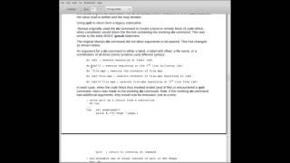 Mumps Programming Language Tutorial Part 6
