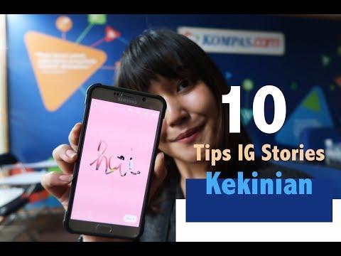 10 Tips Instagram Stories Kekinian #KOMPAScom