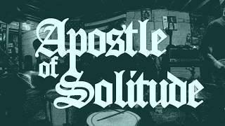 "APOSTLE OF SOLITUDE - ""Monochrome (Discontent)"" rehearsal video"