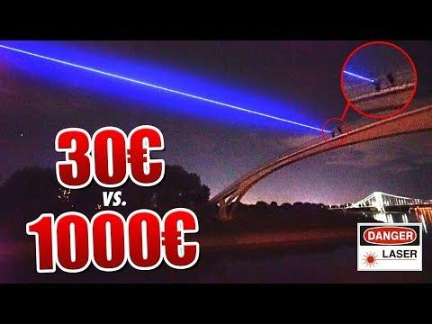 30€ Laser VS 1000€ Laser !
