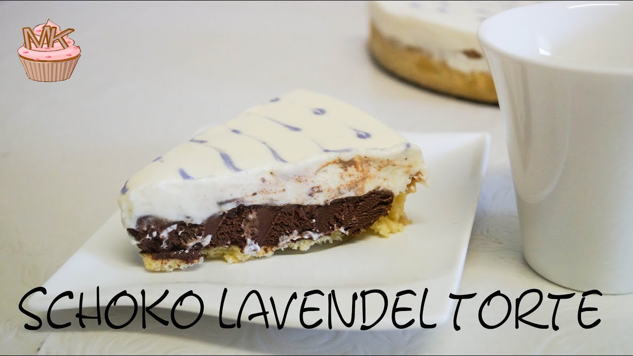 Schoko Lavendel Torte Meine Kuche Youtube