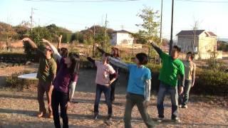 NHKの朝ドラ「てっぱん」のオープニングダンスを、 なまちゃーメンバー...