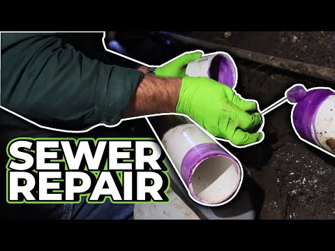 Watch Me Do an Under House Sewer Repair – Real Plumbing Jobs