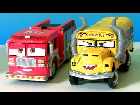 disney cars 3 miss fritter school bus cars 3 tiny. Black Bedroom Furniture Sets. Home Design Ideas