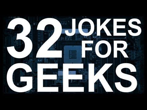 32 Jokes For GEEKS!