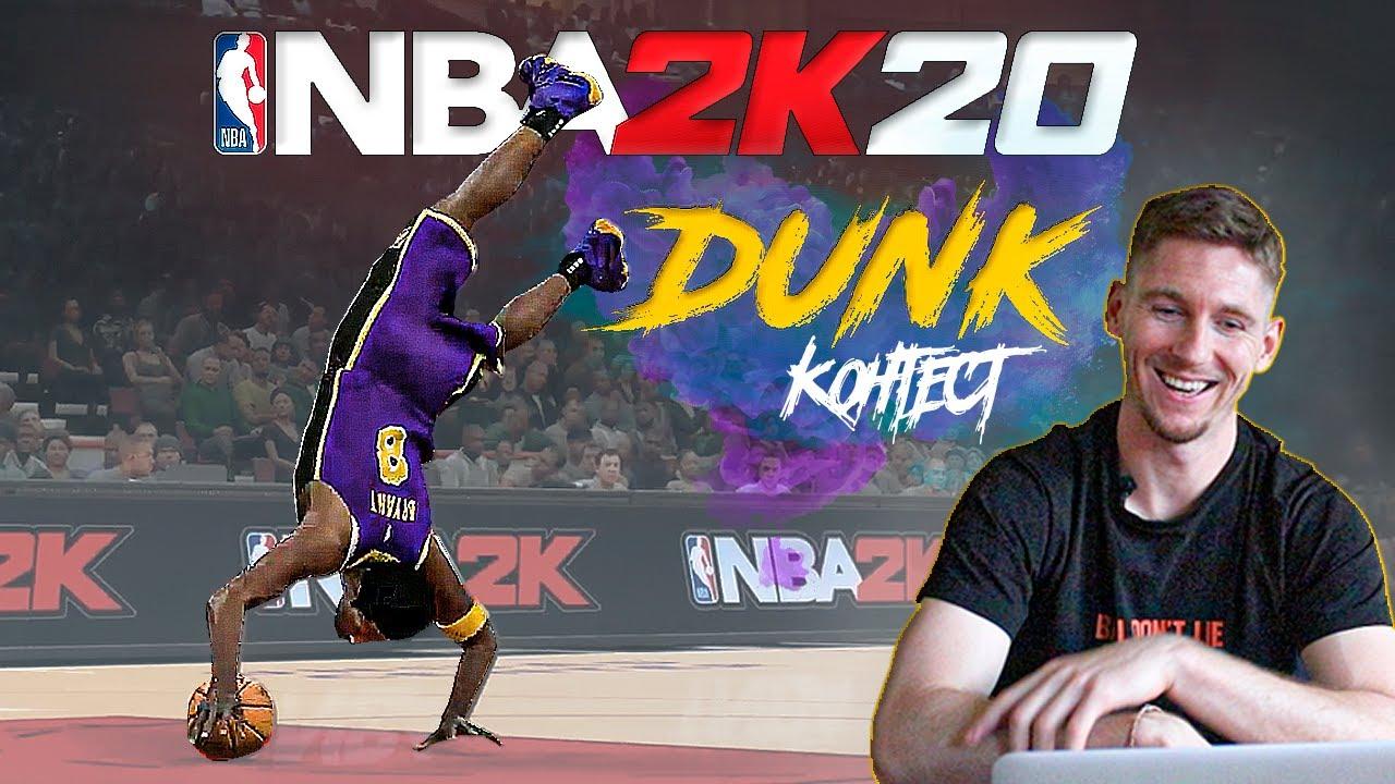 Смотрю NBA2k20 Данк Контест. Миллер