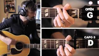 """Compass"" Guitar Tutorial with Dave Haywood"