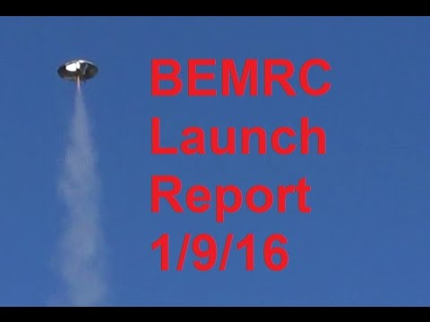 BEMRC video launch report 1/9/16