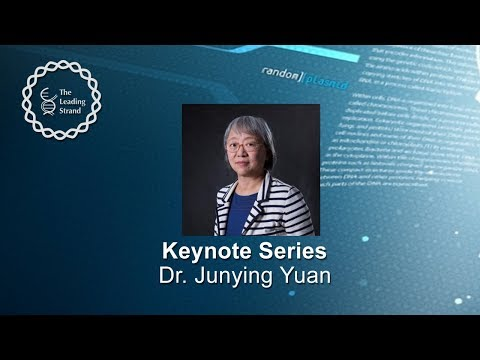 CSHL Keynote, Dr. Junying Yuan, Harvard Medical School