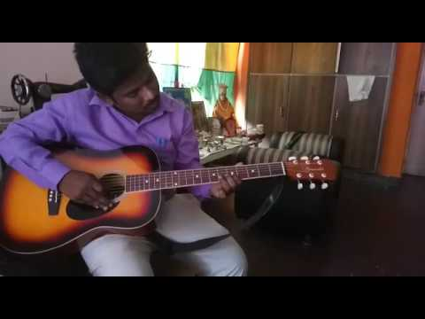 National anthem song played on guitar
