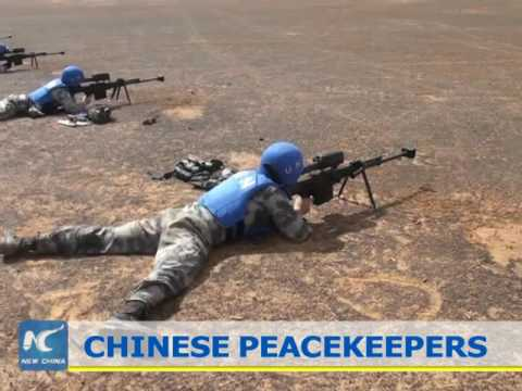 2,400 Chinese peacekeepers serving in Africa