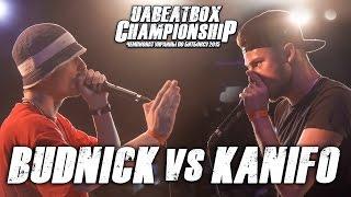 BUDNICK vs KANIFO | Чемпионат Украины по битбоксу 2015 | Quarter-final(, 2015-08-25T09:18:13.000Z)