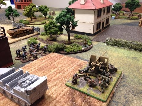 Bolt Action #84 1st SS Panzer Div Leibstandarte vs Royal Marine Commandos