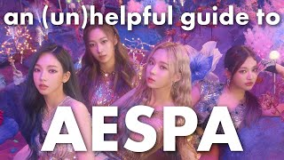 an (un)helpful guide to AESPA !