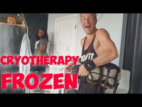 Cryotherapy Cold Therapy ICE MAN FREEZER TANK Experience | Meet the Kennedys #318