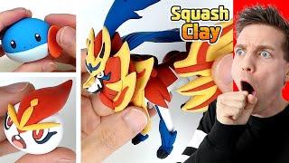 *Amazing* CLAY ART POKÉMON CREATIONS (Satisfying video)