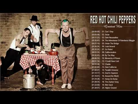 Red Hot Chili Peppers Greatest Hits - Best Songs of Red Hot Chili Peppers - Full Playlist 2018