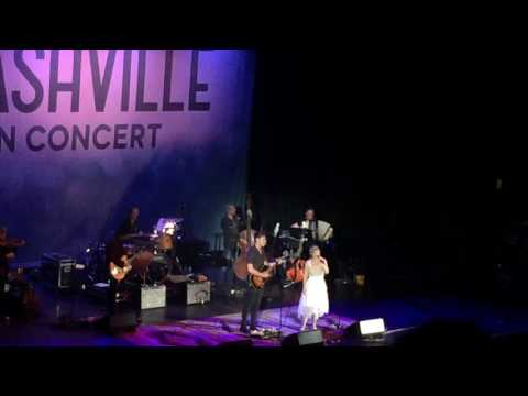 Sam Palladio & Clare Bowen Nashville Cast Fade Into You   from London