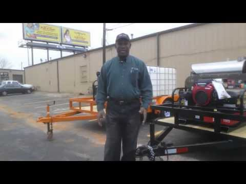 Pressure Washer Trailers - Rent to Own Pressure Washer Trailers No Credit Needed