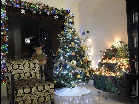 Como armar y decorar el Arbol de Navidad y Nacimiento 2017
