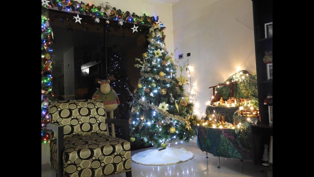 Fotos Del Nacimiento De Navidad.Como Armar Y Decorar El Arbol De Navidad Y Nacimiento 2017
