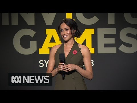 Meghan Markle 'so grateful to be a part of' the Invictus Games | ABC News